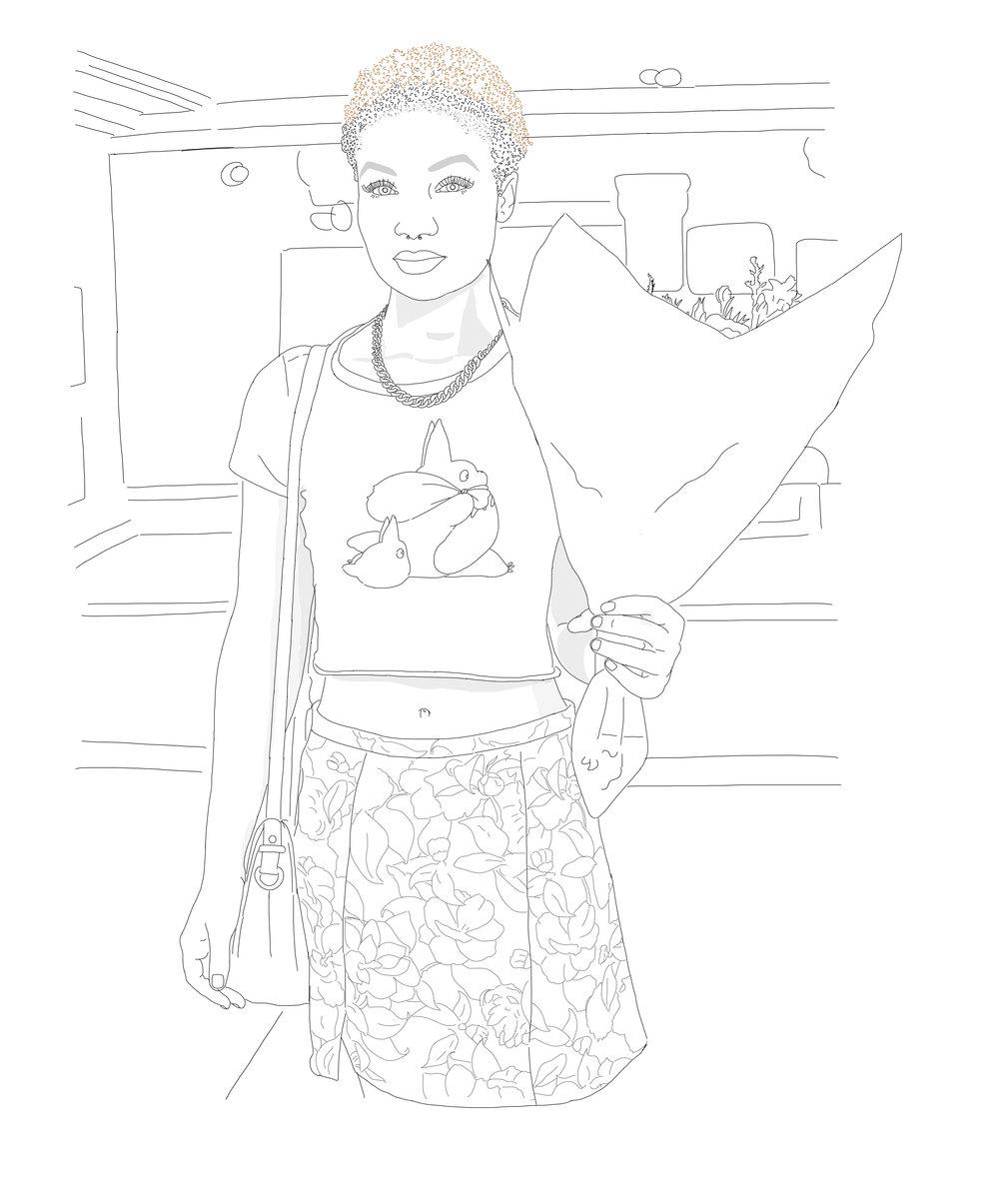 Zenobia holding flowers with background.jpg