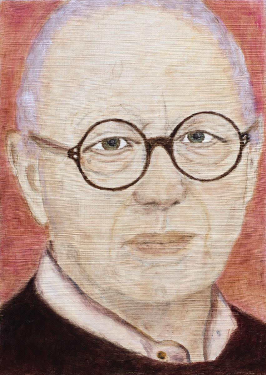 Portrait of Ellsworth Kelly