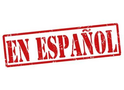 Archivo de audio en español