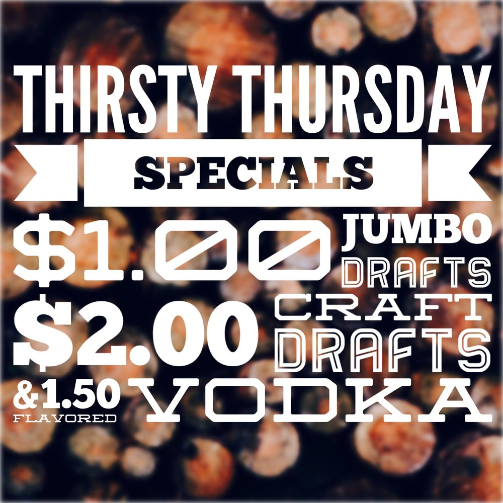 EVERY THURSDAY in January!