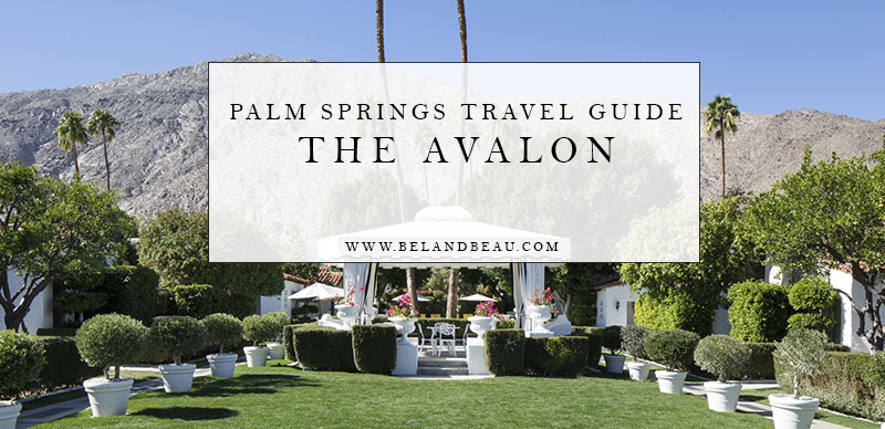 palm springs accommodations avalon hotel
