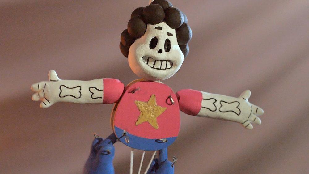 Steven Universe está listo para visitar la ofrenda.