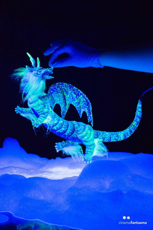 La marioneta del Dragón Constelación es uno de nuestros favoritos.