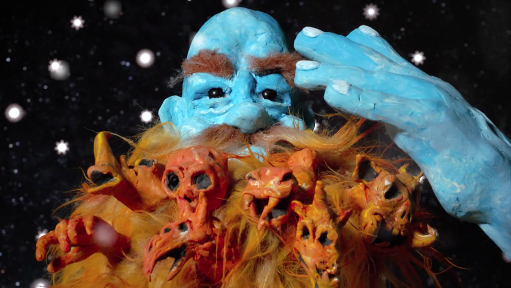 Still de  Adult Swim Cortinilla Original: Blue God in Space , 2018