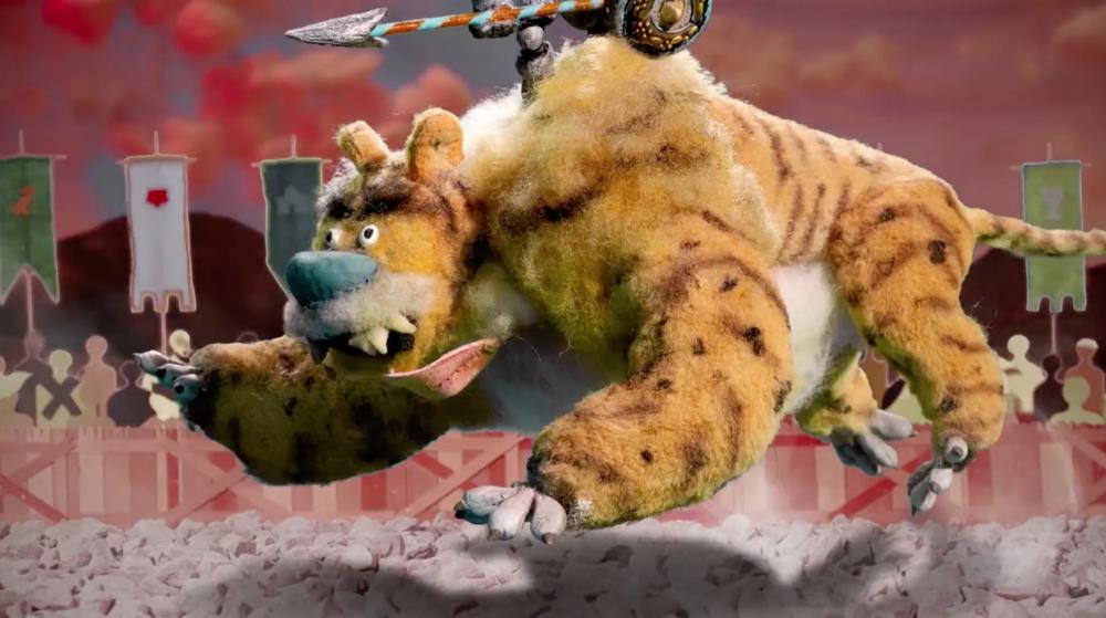 Still de  Adult Swim Cortinilla Original: Tiger Knight v. Rhino Knight , 2018