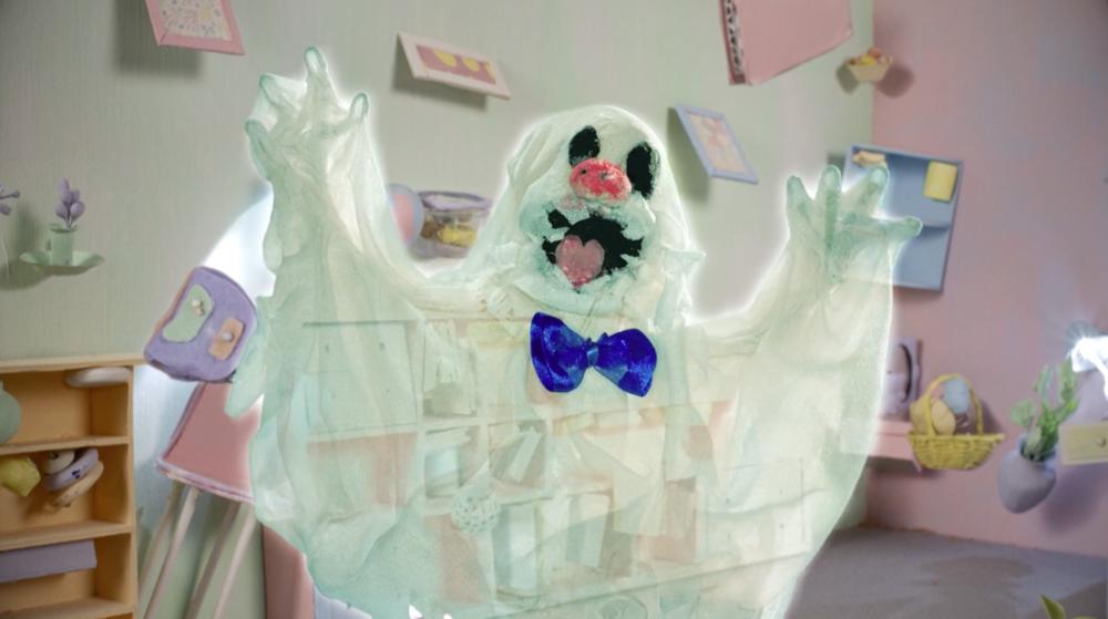 Still de  Adult Swim Cortinilla Original: Dancing Ghost , 2018