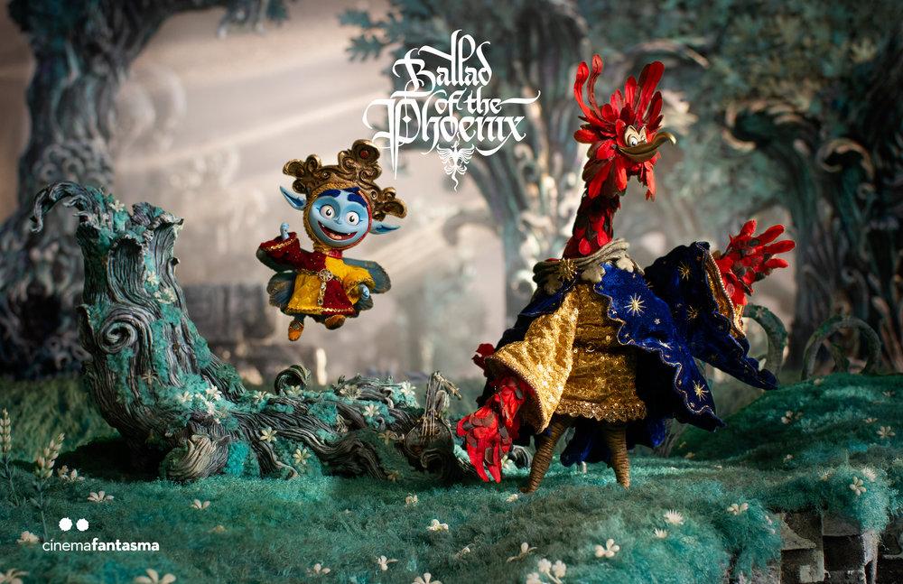 ¡Primer still de nuestra película! ¡Conoce a Virian y Arthos Phoenix!