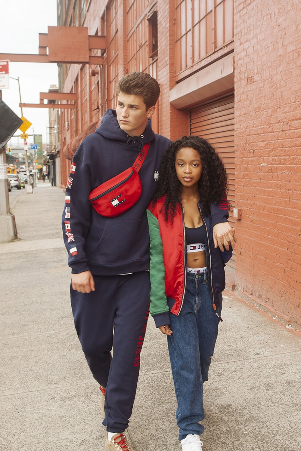 63a3d23d7 The TOMMY JEANS capsule has been released, all about celebrating the 90's  Tommy looks.