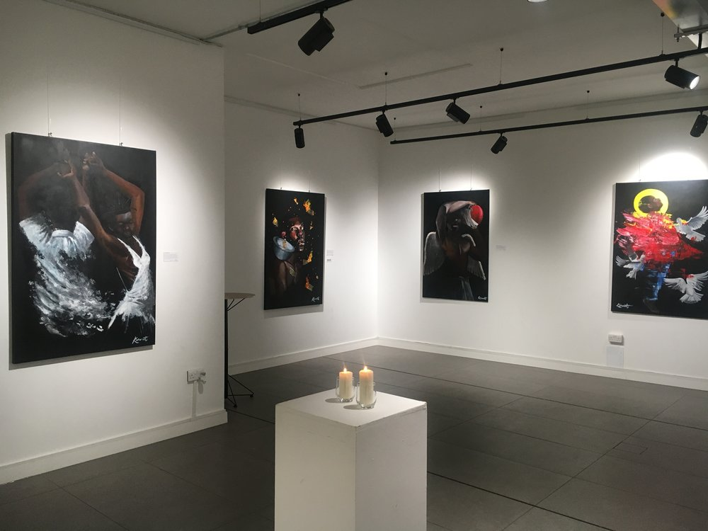 Koby Martin 'Asiamah' Exhibition, The Old Street Gallery