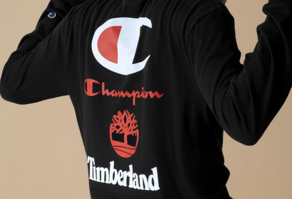 21e91eddb24 BLAIZED UK - The Drops — Timberland   Champion Join to Launch New ...