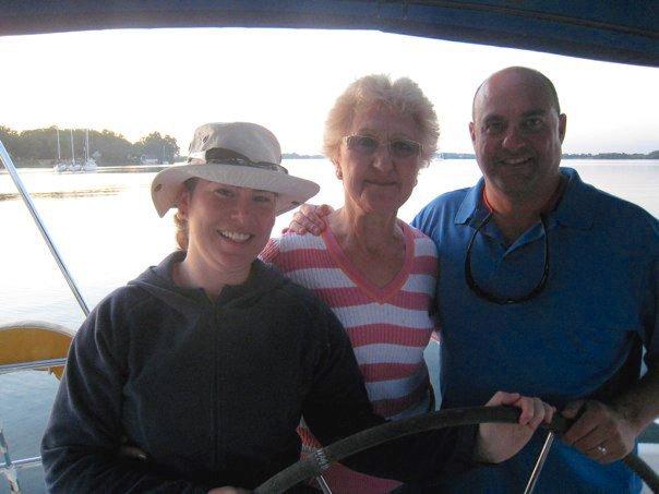 Sailing with Mum