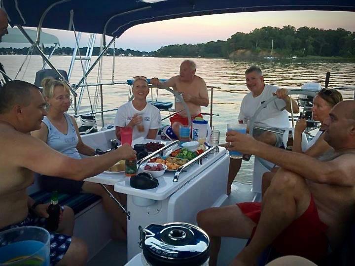 Chesapeake Bay Sailing Charter Cruise