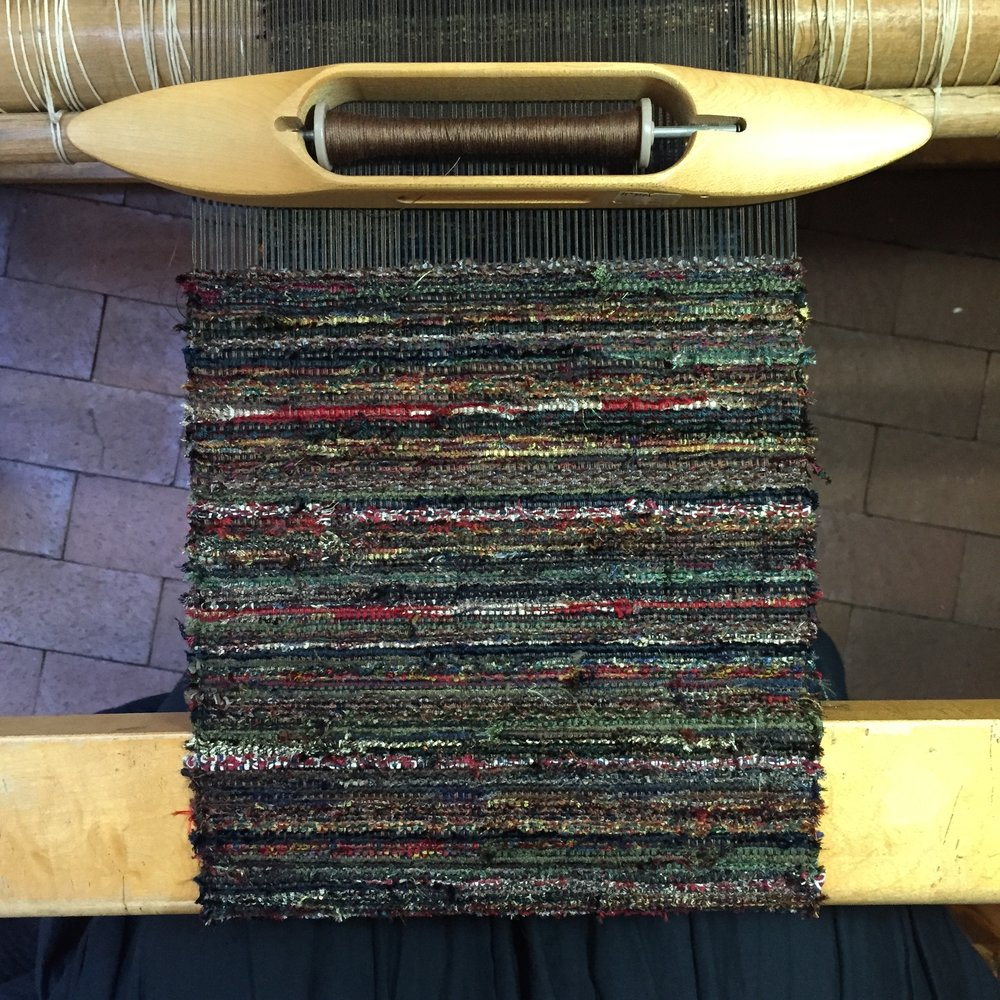 sakiori sample on loom.jpg