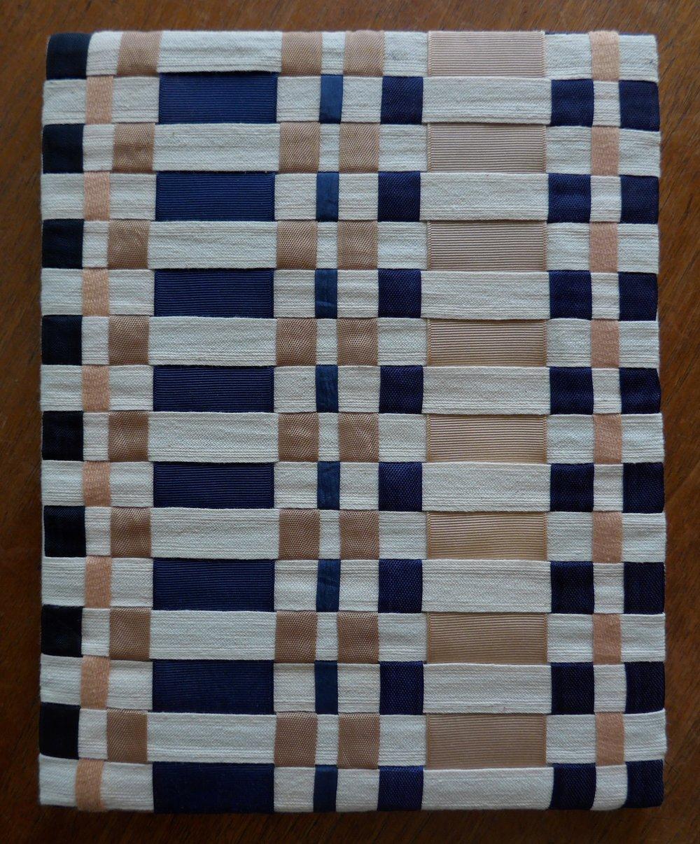 Twill tape, seam binding, middy braid, grosgrain ribbon, 2013.
