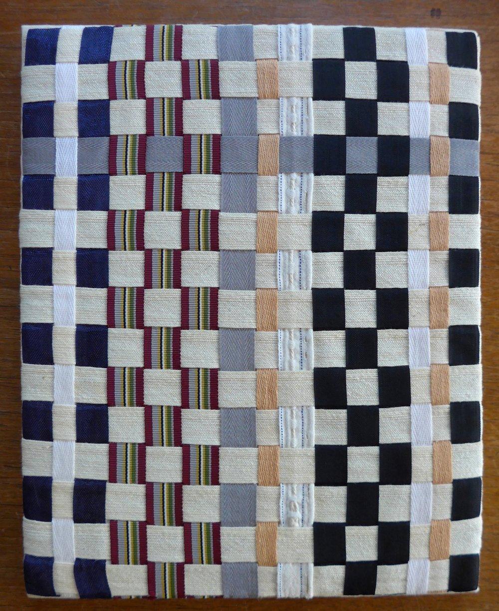 Grosgrain ribbon, seam binding, 2013.