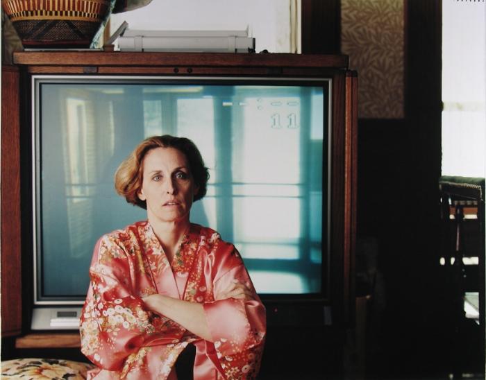Jill and the TV, Tina Barney