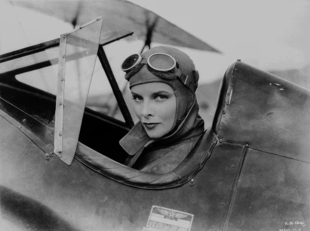 Katharine Hepburn como Lady Cynthia Darrington en la película Christopher Strong (1933)