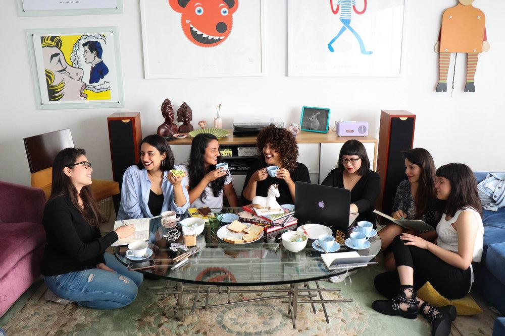 El grupo de mujeres que conforman María Landó, un proyecto que busca visibilizar a las músicas peruanas