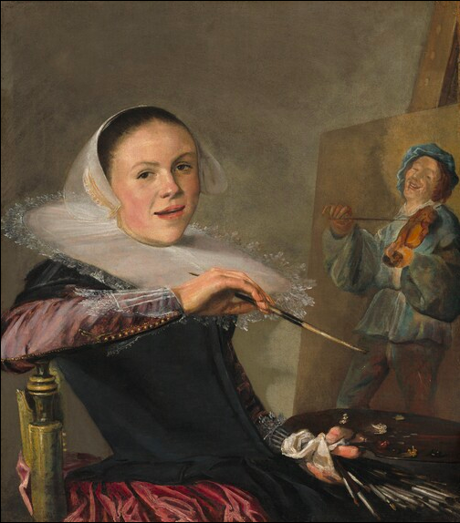 Self-Portrait, c. 1630 -  Judith Leyster