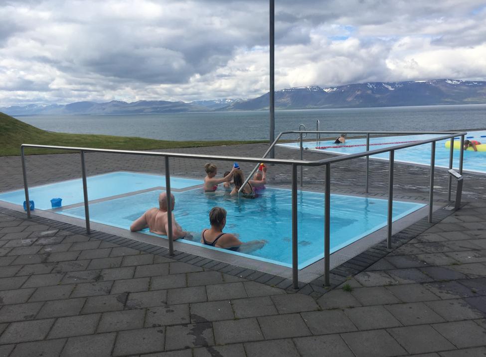 Public Hotpot in Hofsós, Iceland. Photo by Maggie Siebert