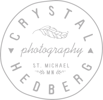 St. Michael, MN Newborn Photographer | Crystal Hedberg Photography