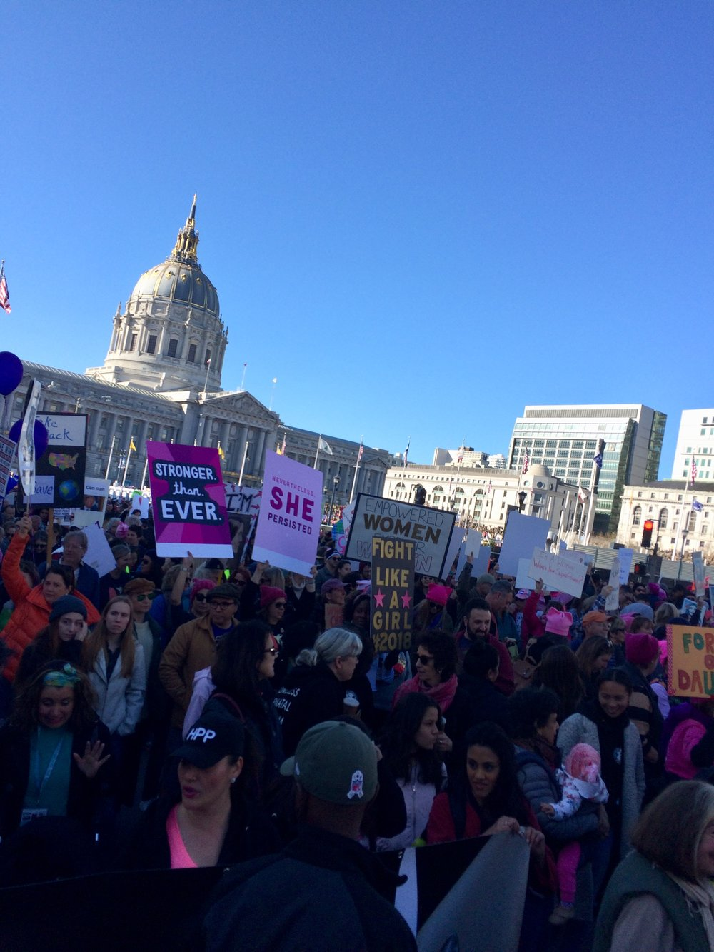 Women's March San Francisco, January 20, 2018