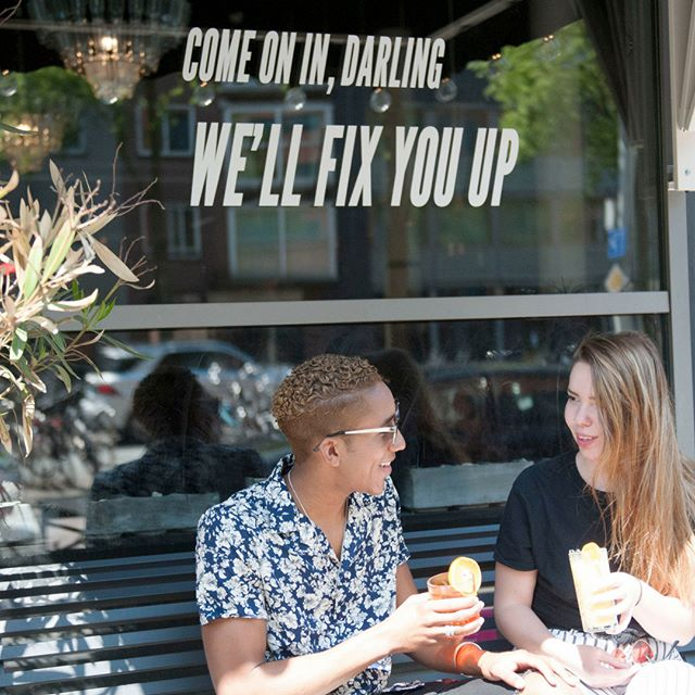 We adore the summer in the city! That's why we're more then pleased that we can offer you a seat on our terrace! We'll fix you up in or outside, Darling!😜 #fixxx #needafix #thefixbymaiden #ecomama #hotel #checkin #travel #traveler #wanderer #cafe #hotspot #amsterdam #amsterdamhotspot #amsterdamcafe #terrace #terrasamsterdam #summer