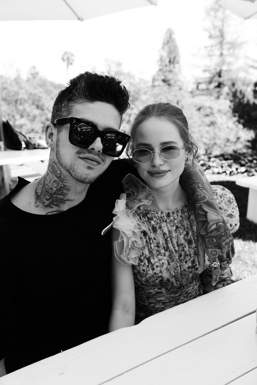 Travis Mills & Madelaine Petsch