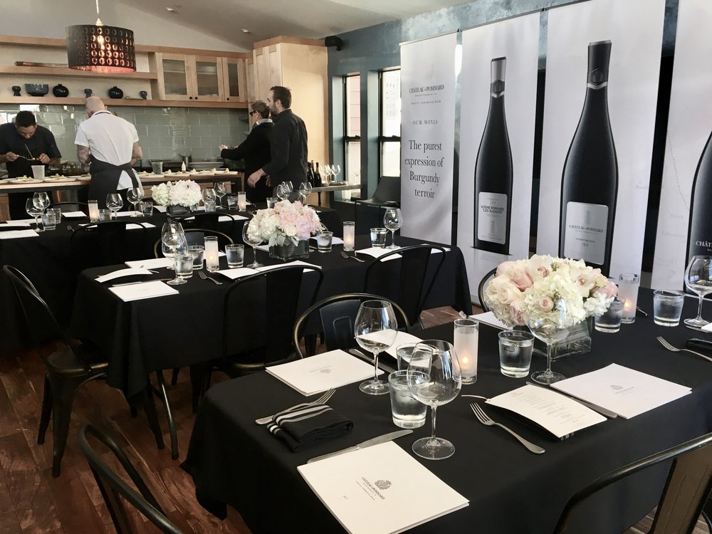 Chateau de Pommard Brand Launch Media Event, June 2017 (San Francisco, CA)