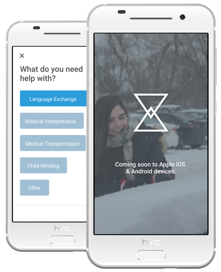EPOCH empowers socio-economic integrationby connecting refugees to local communities through a skills exchange marketplace. -