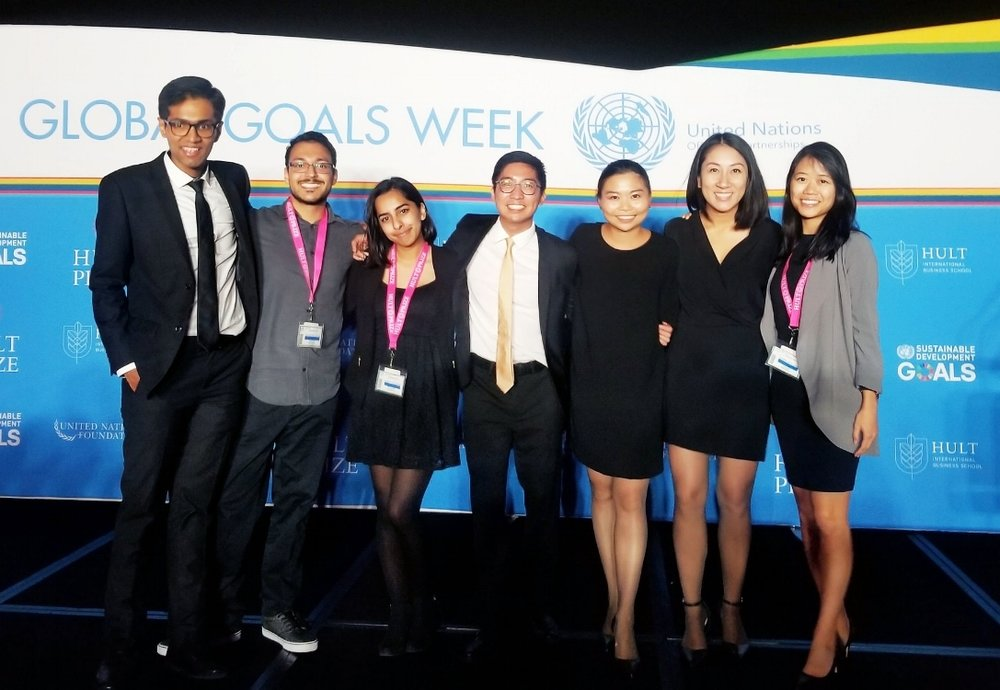 CBC - Waterloo team finalists at United Nations social enterprise challenge - A team from the University of Waterloo has placed in the top six at the world's largest student competition for social enterprise.