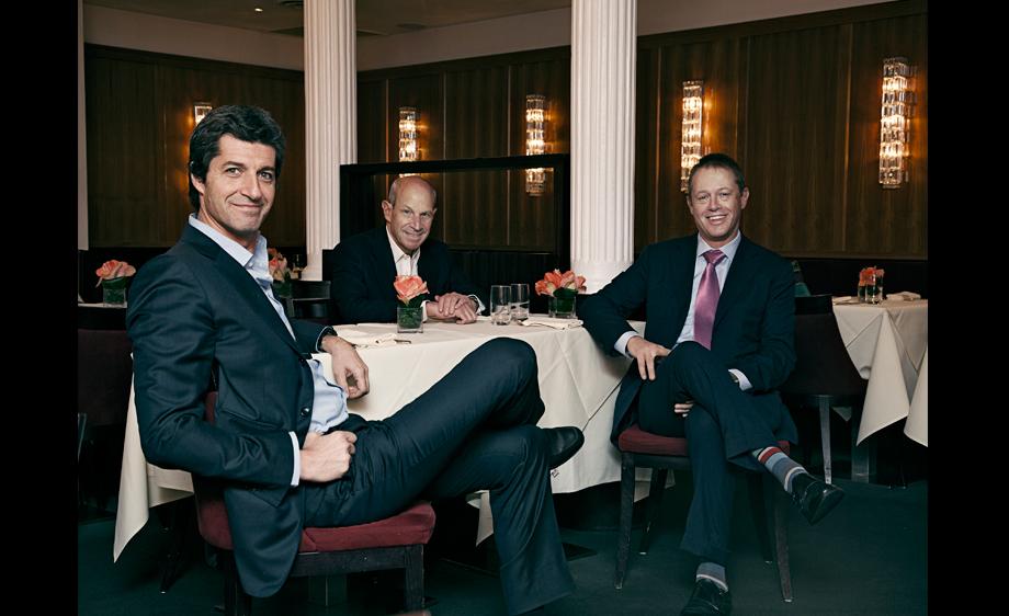 Gherardo Guarducci, Jon Tisch, and Dimitri Pauli        -