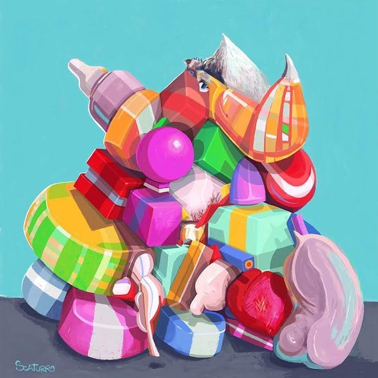 Color Pile #1