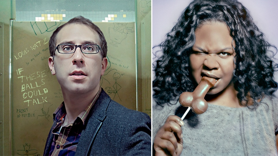 Louis Katz and Yamanika Saunders, Comedians      -