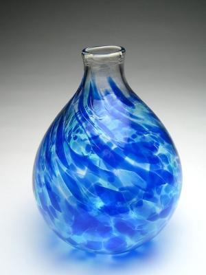 Hand Blown Glass Vase S