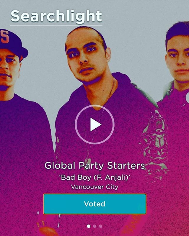 FAM! It just got announced! We made it to round 2 - Top 100. We need your help to make it on  TOP 10!! Just click the link in out bio, log in with Facebook and click vote. Could be a big break for us. Voting is once a day till March 7 than that's it! http://www.cbcmusic.ca/searchlight/3392  @cbc_music #cbcmusic #searchlight2018 #cbcsearchlight #cbcsearchlight2018 #canadatalent