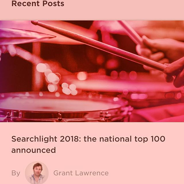 Some great new artists in the top 100. We are grateful to be included! We need your help to make it on  TOP 10!! Just click the link in out bio, log in with Facebook and click vote. Voting is once a day till March 7 than that's it! http://www.cbcmusic.ca/searchlight/3392  @cbc_music #cbcmusic #searchlight2018 #cbcsearchlight #cbcsearchlight2018 #canadatalent