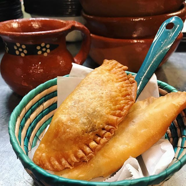 Dessert time! Cheese and guava empanadas 😋#MexicoCityInHouston