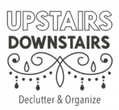 Upstairs//Downstairs Declutter and Organize