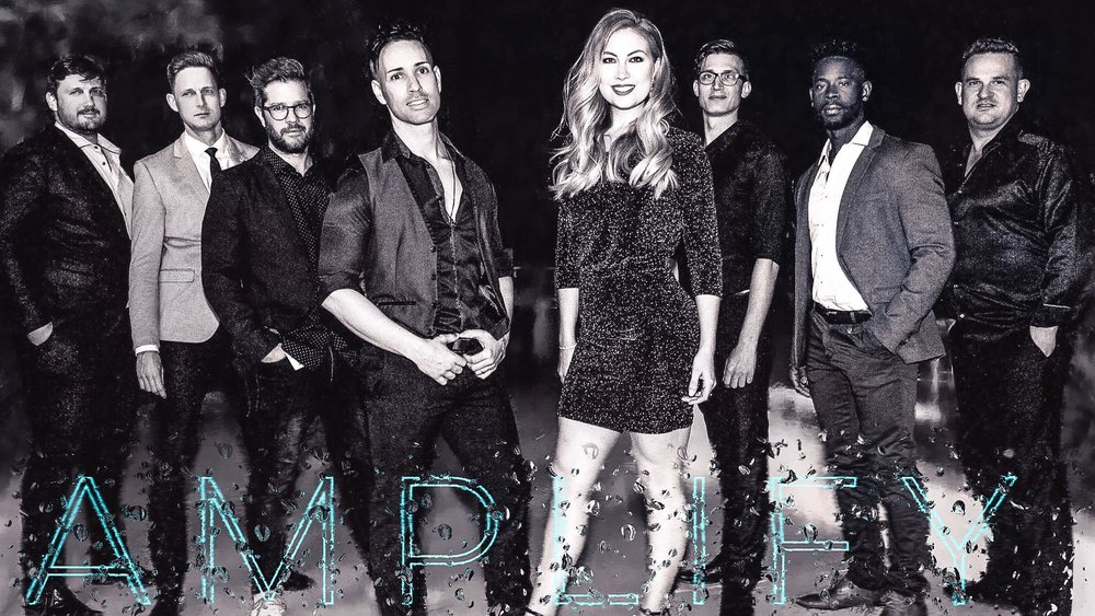 LIVE PARTY BAND - Amplify's directive is one of'dynamic entertainment' - from 'dinner-to-dance', so no matter the size of your event engaging you and your guests , creating energy, vibe and an electric ­atmosphere will be our success.