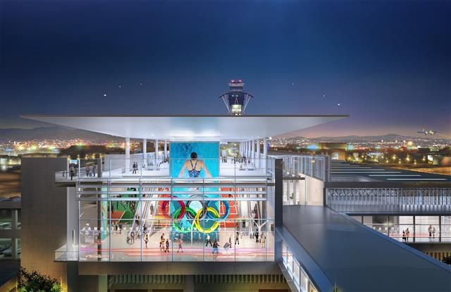 Experience L.A., the ITF-West Station's Olympic Hall