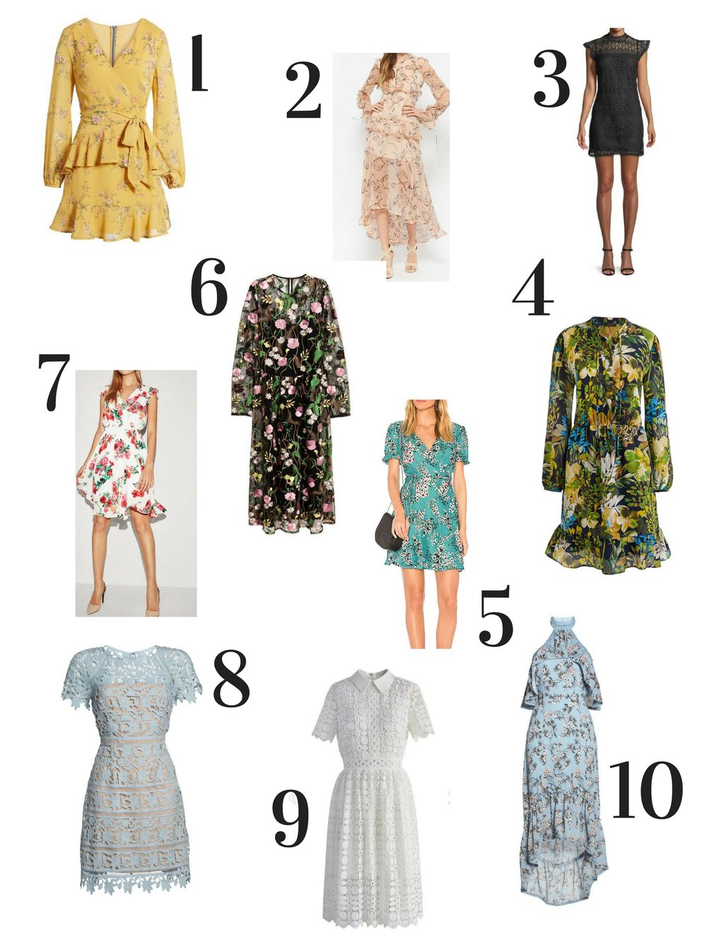 Spring Outfit ideas- Spring Dresses - Outfit Ideas for Women - Spring Fashion-  www.heartandseam.com  #heartandseam #springoutfits