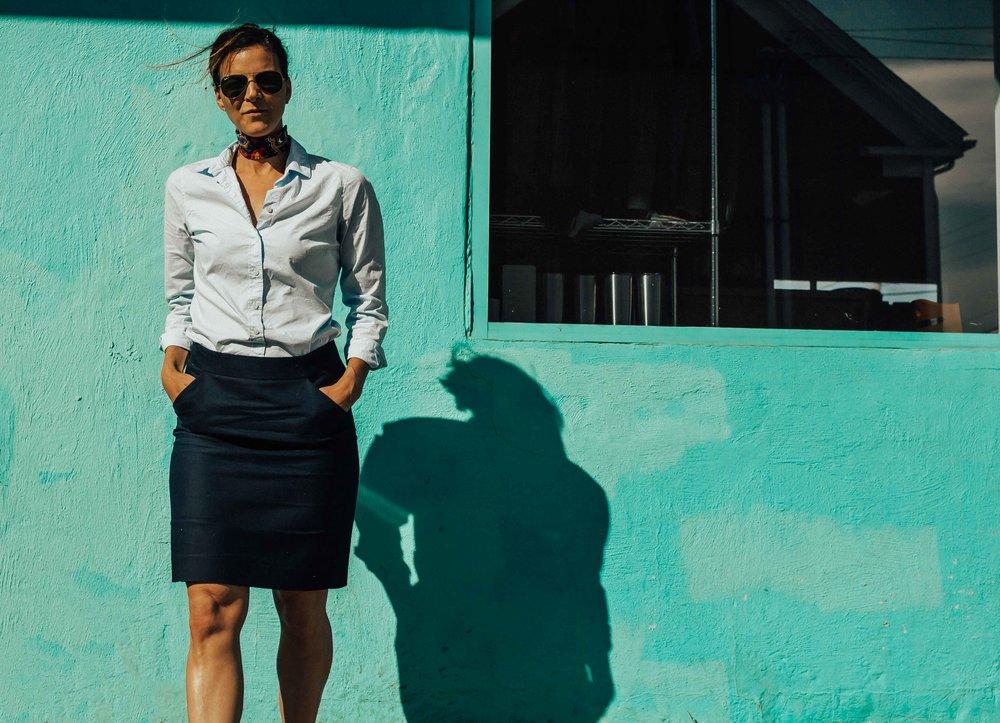 Work Wear for Women - Office Attire for Women - Work Outfits - Office Outfits for Women - Neck Scarf Outfit - #workwear #officeattire #heartandseam  www.heartandseam.com