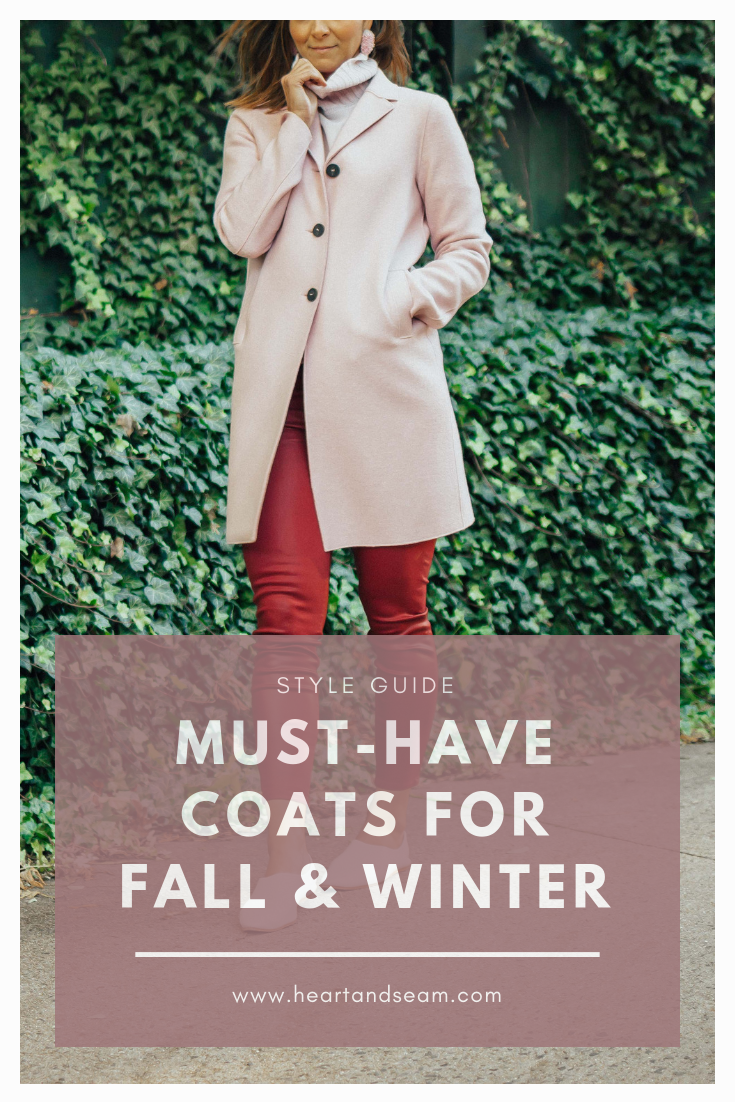 Fall Coats - Winter Coats - Women's Coats - Winter Coats for Women - Best Winter Coats - Winter Coat Outfits - Coats for Winter- Pink Coat Outfits - #wintercoats #heartandseam www.heartanseam.com