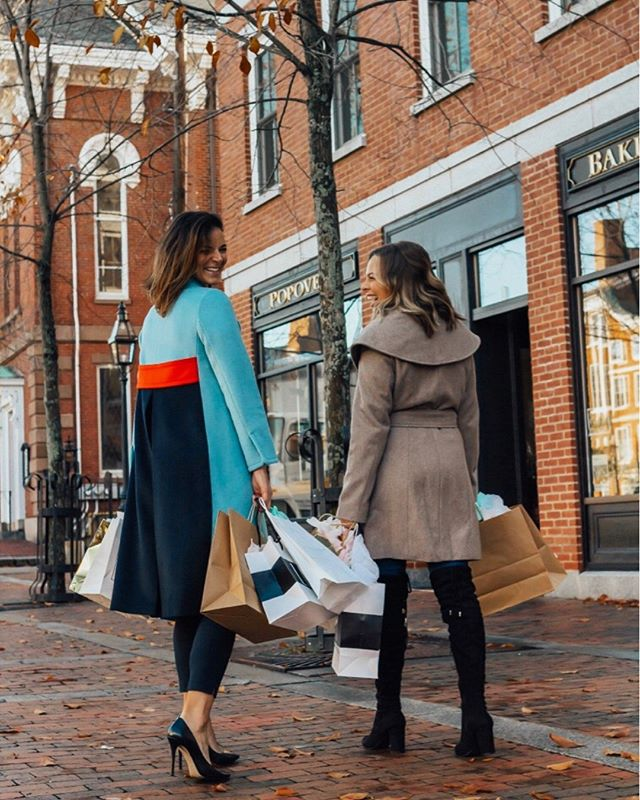 Shopping with my girlie @beauty_byfrankie in #PortsmouthNH. Today is the last day to enter the giveaway! The winner will be announced tomorrow. Good luck! . . .  Shop your screenshot of this pic with the LIKEtoKNOW.it app #liketkit #LTKholidaystyle #LTKholidaywishlist http://liketk.it/2ymf7 @liketoknow.it