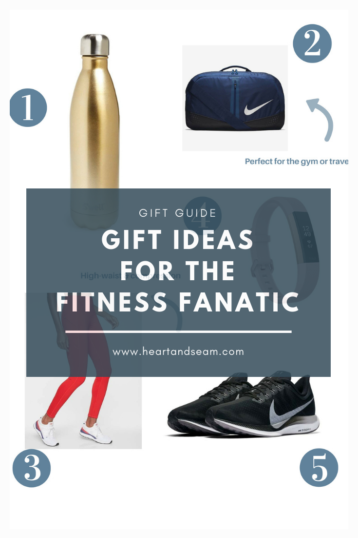 gift guides - fitness gift guides - gift ideas - fitness lovers #giftguides #heartandseam www.heartandseam.com