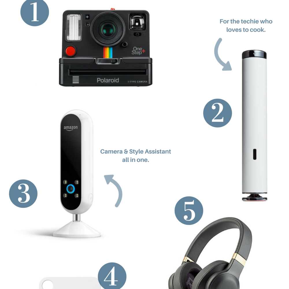 GIFT IDEAS FOR THE TECH JUNKIE -