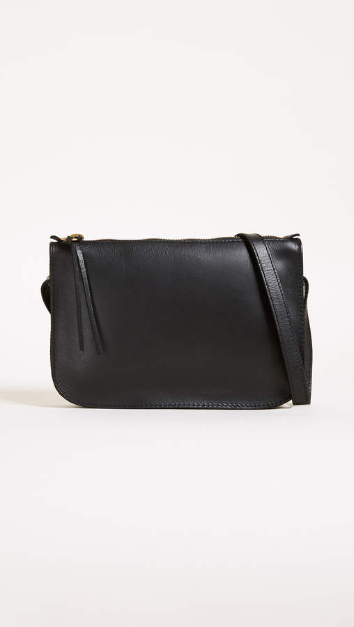 CROSSBODY BAG - I already have this one in brown but would love a black version. It holds the perfect amount without feeling too bulky.
