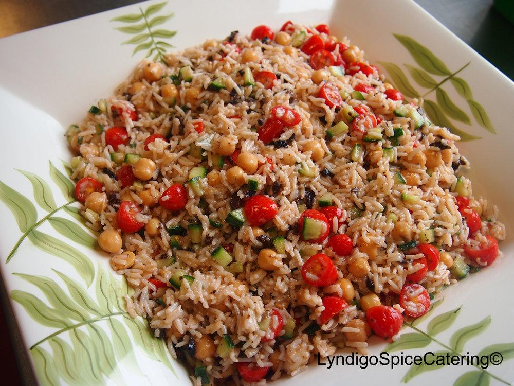 Mediterranean Rice Salad