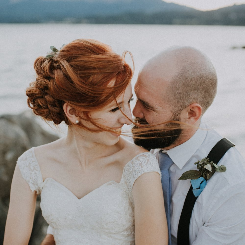 Columbia River Gorge Wedding at Government Cove -